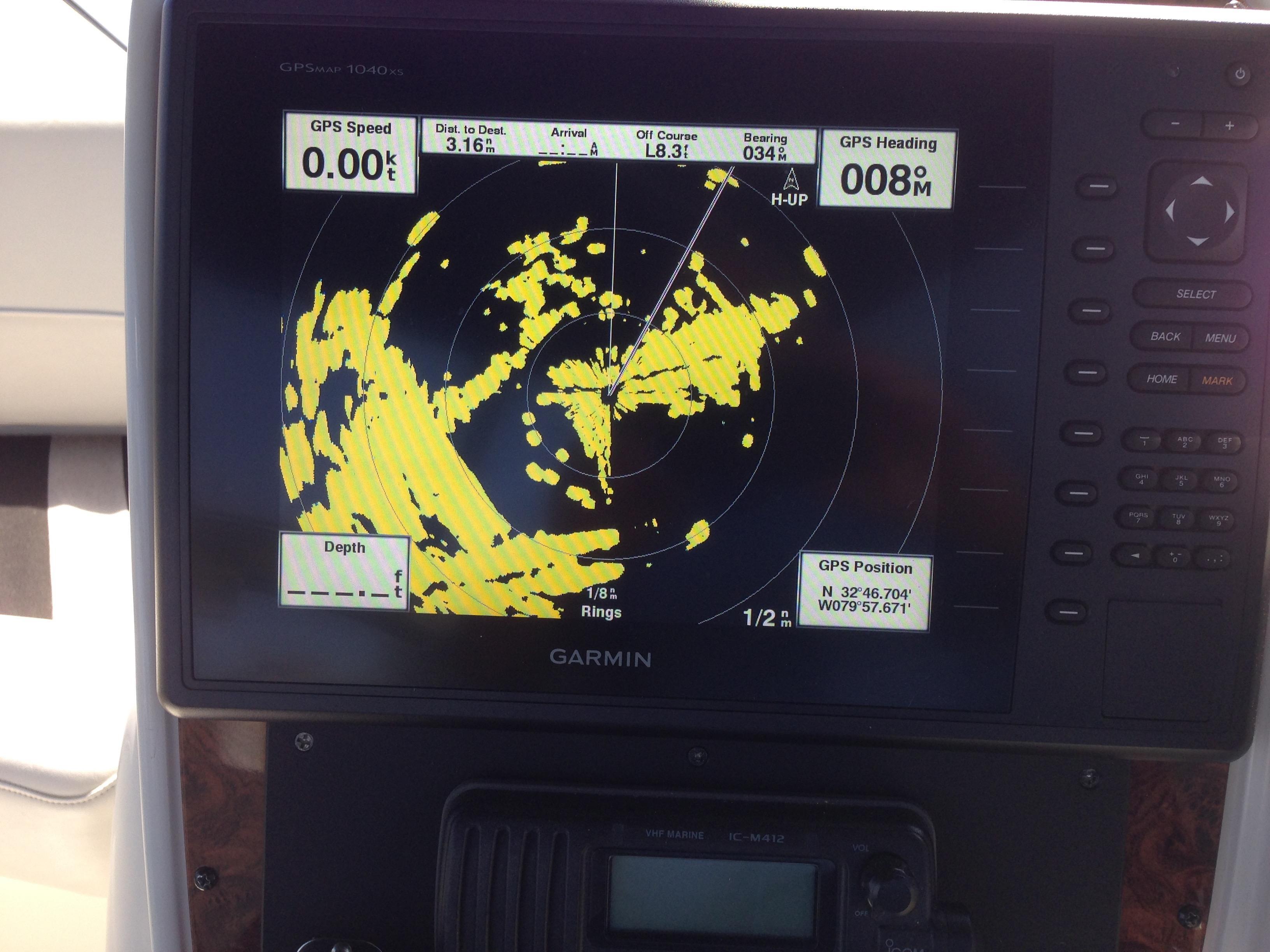 Meridian 411 Sedan - 36 NM radar