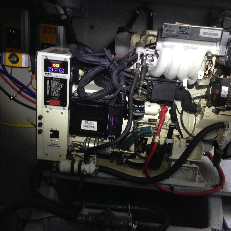 Meridian 411 Sedan - Kohler 10 KW Generator