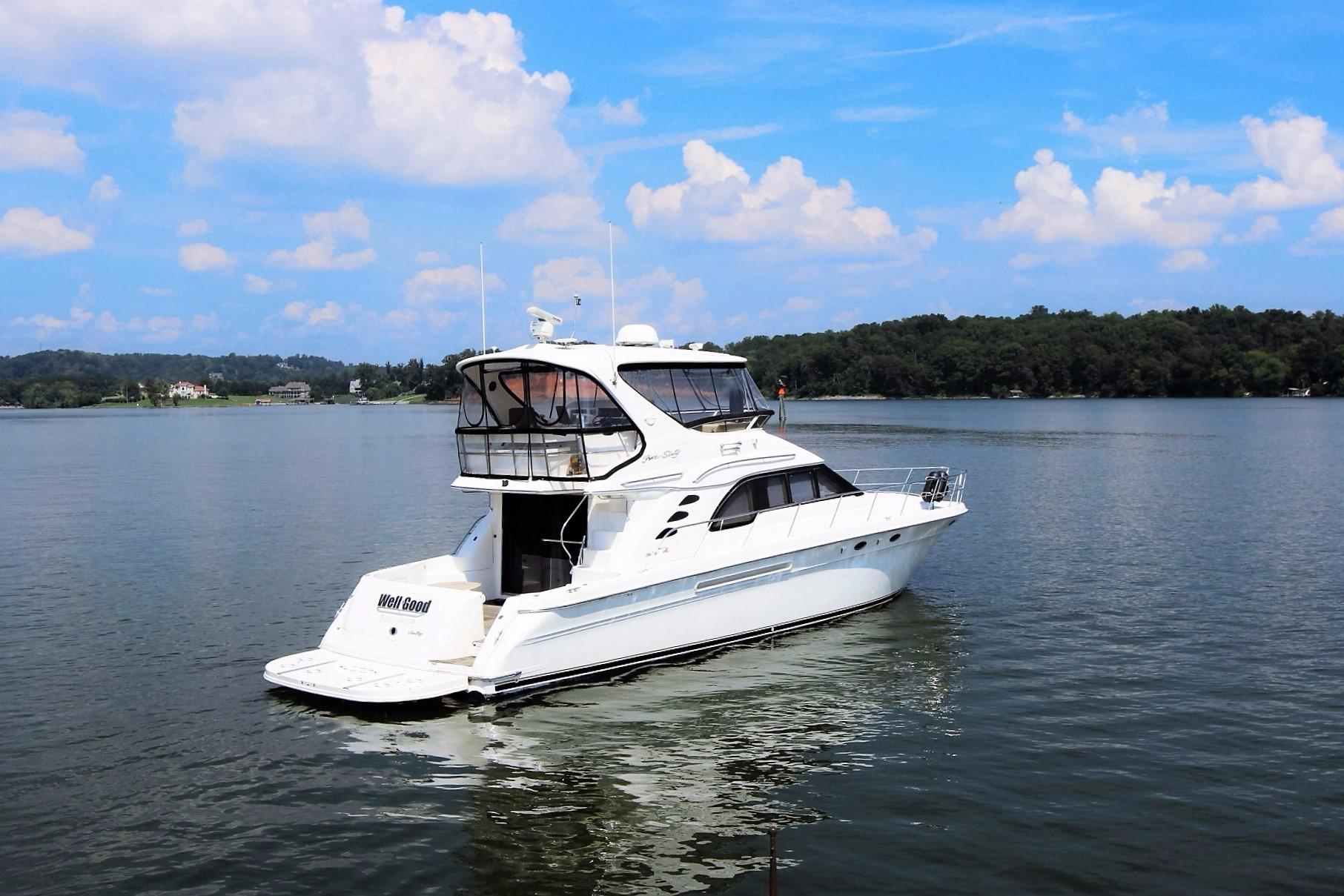 56 Sea Ray 1998 Knoxville | Denison Yacht Sales