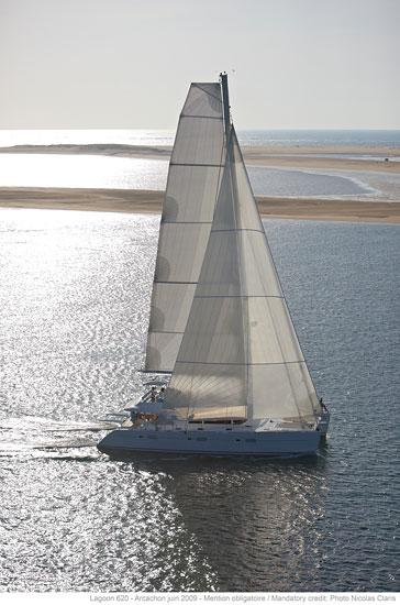 helloManufacturer Provided Image: Lagoon 620 Sailing