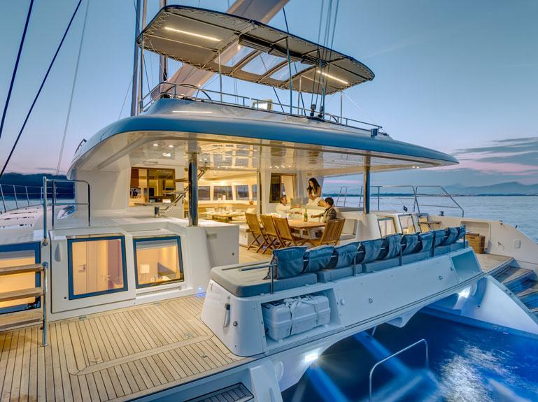 helloManufacturer Provided Image: Lagoon 620 Cockpit