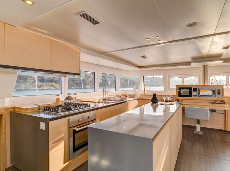 helloManufacturer Provided Image: Lagoon 620 Galley