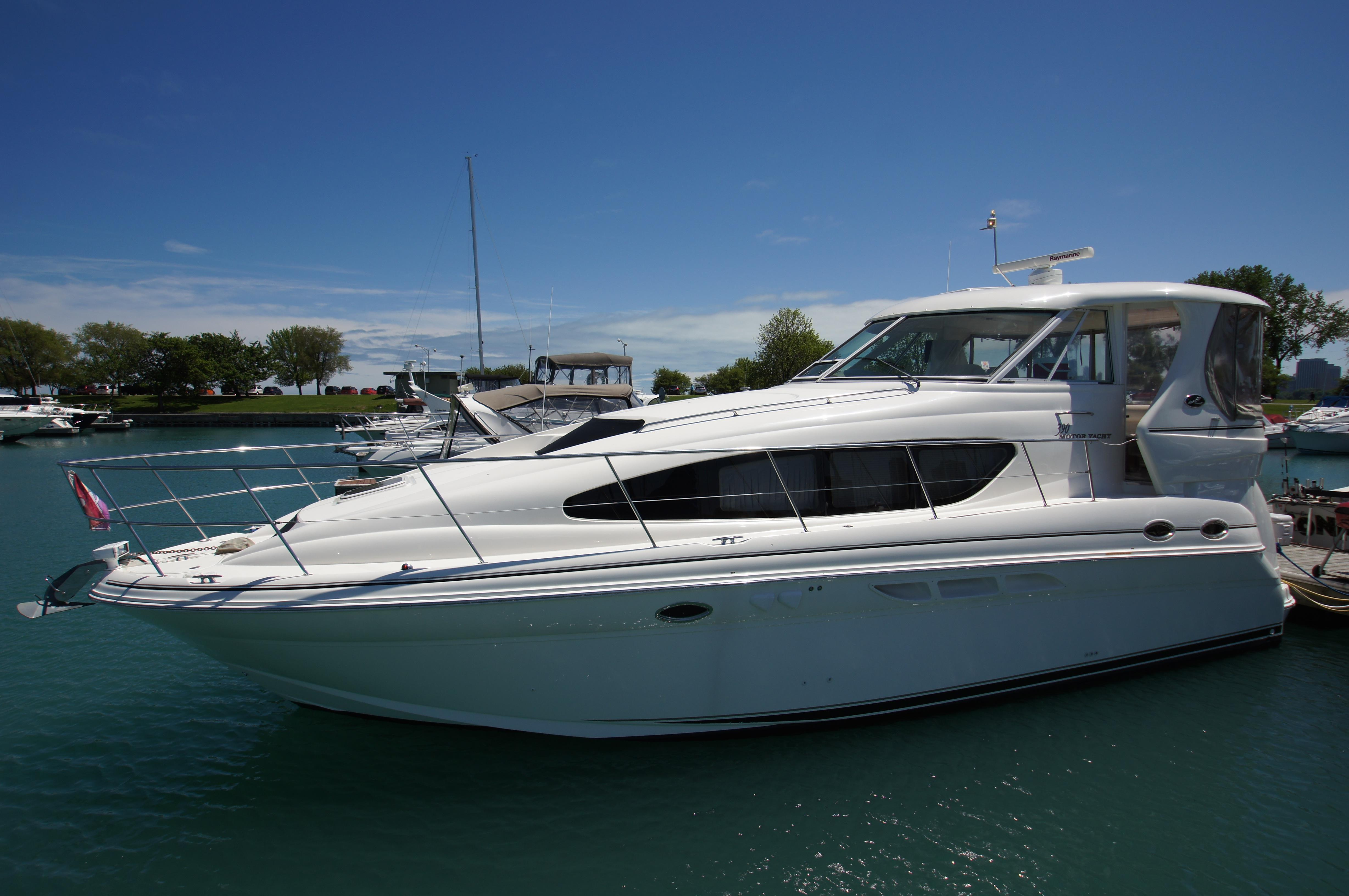 39 sea ray 2003 chicago denison yacht sales for Sea ray motor yacht for sale