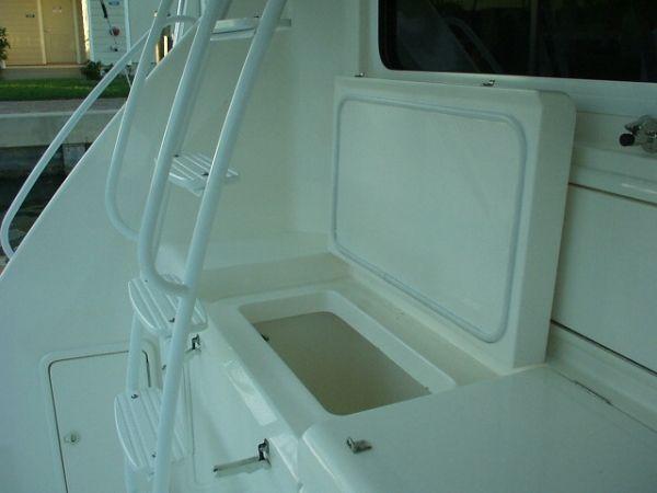42 Riviera Cockpit