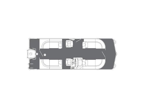 2018 MANITOU 22 AURORA LE RF TWIN TUBE for sale