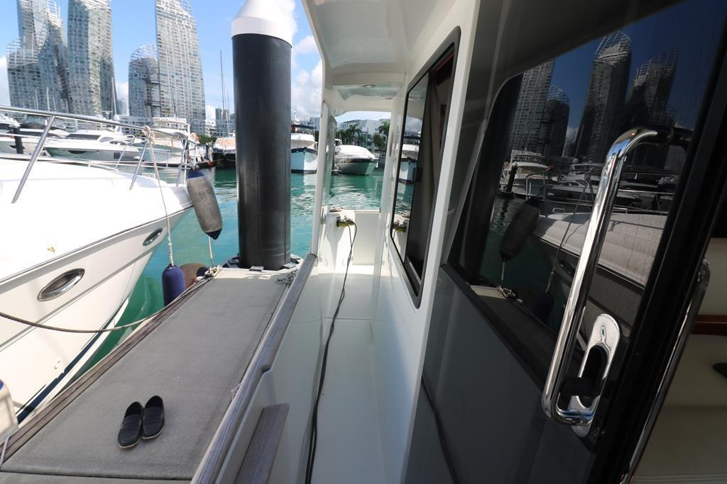 Easy access to dock via side door