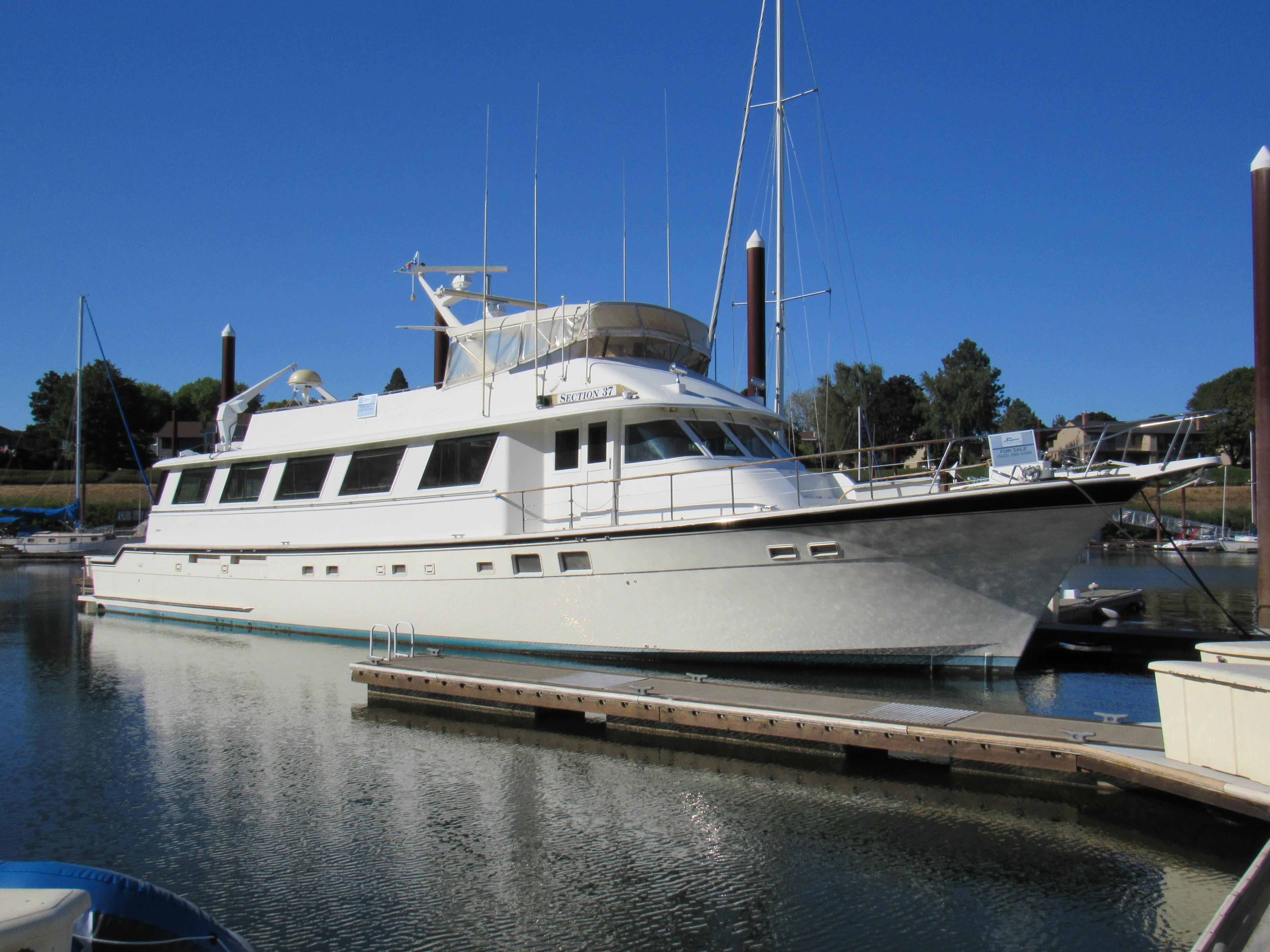 85 Hatteras 1986 Portland | Denison Yacht Sales