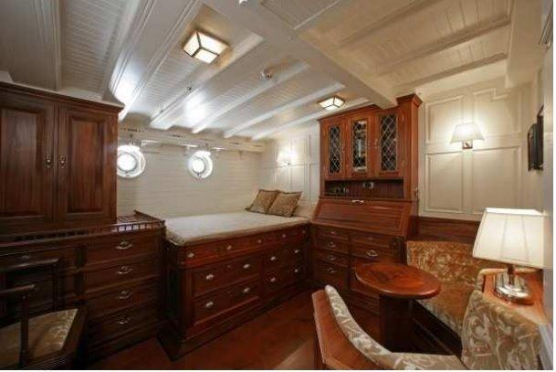 Guest cabin (port forward)