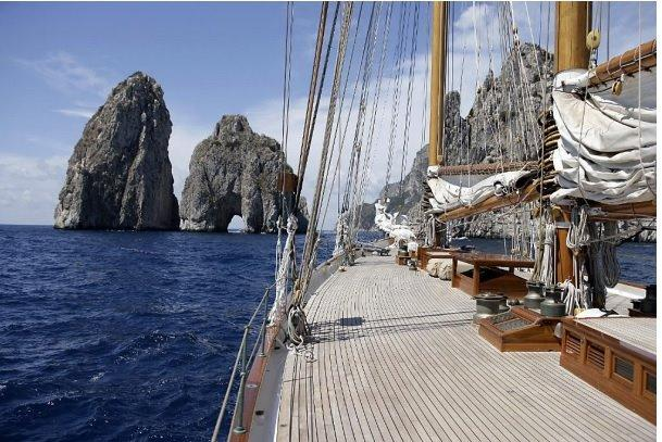 Cruising in Capri