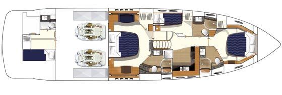 Layout Lower Deck