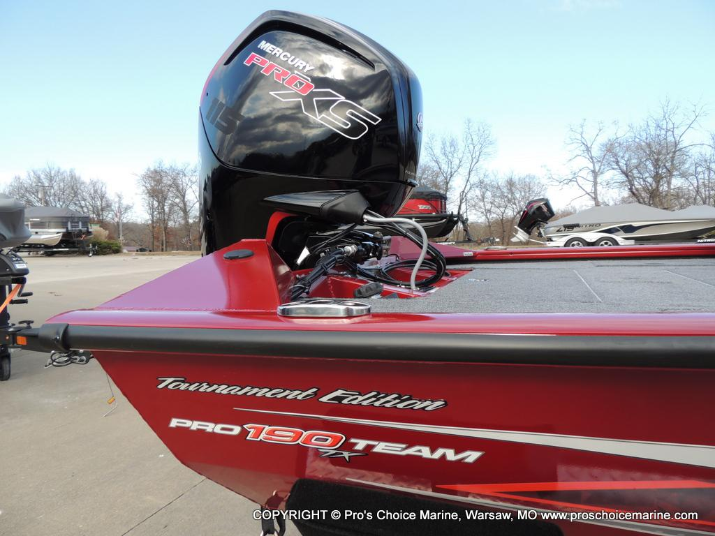 2019 Tracker Boats boat for sale, model of the boat is Pro Team 190 TX Tournament Ed. & Image # 38 of 50