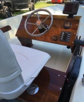 Boston Whaler 15 Sport Classic -restoration - Photo: #16