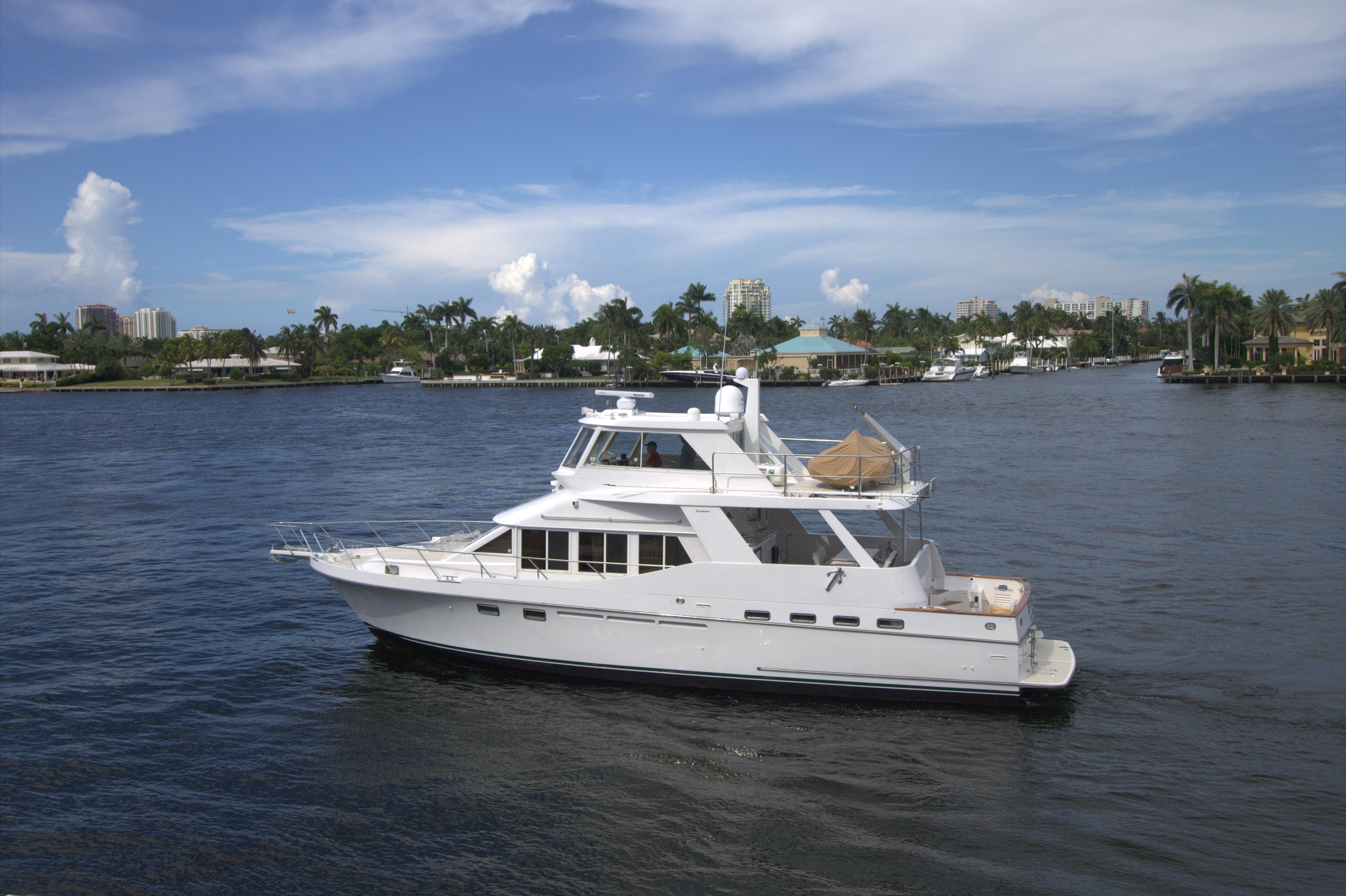 54 ocean alexander 1998 pdq for sale in fort lauderdale for Ocean yachts 48 motor yacht for sale