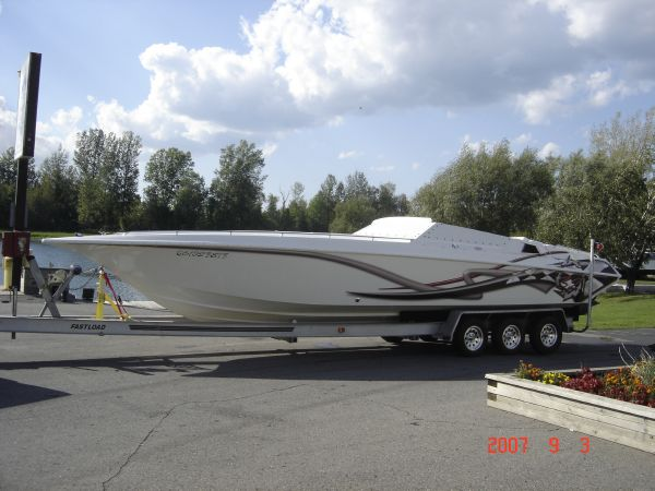 Fountain Fever High Performance Boats. Listing Number: M-3673903 32' ...