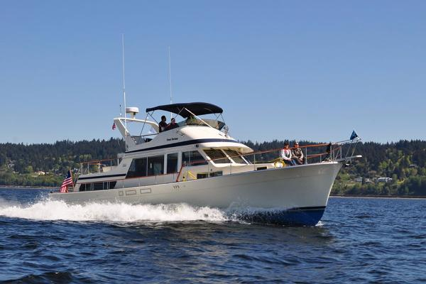 48 39 tollycraft 1984 in seattle wa for sale the hull for Fishing boats seattle