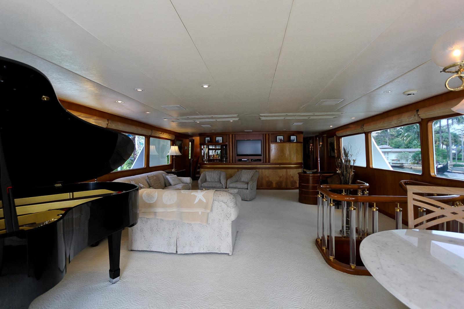 Port Aft - Showing Baby Grand