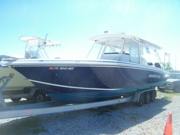 Fountain 34 Center Console Dive Boat. Listing Number: M-3683954
