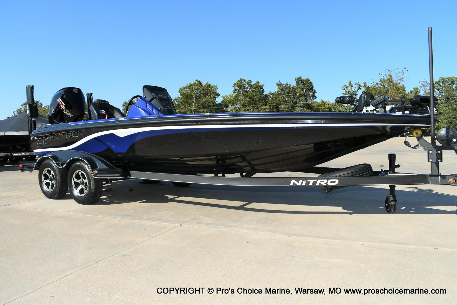 2020 Nitro boat for sale, model of the boat is Z21 Pro Package & Image # 1 of 50