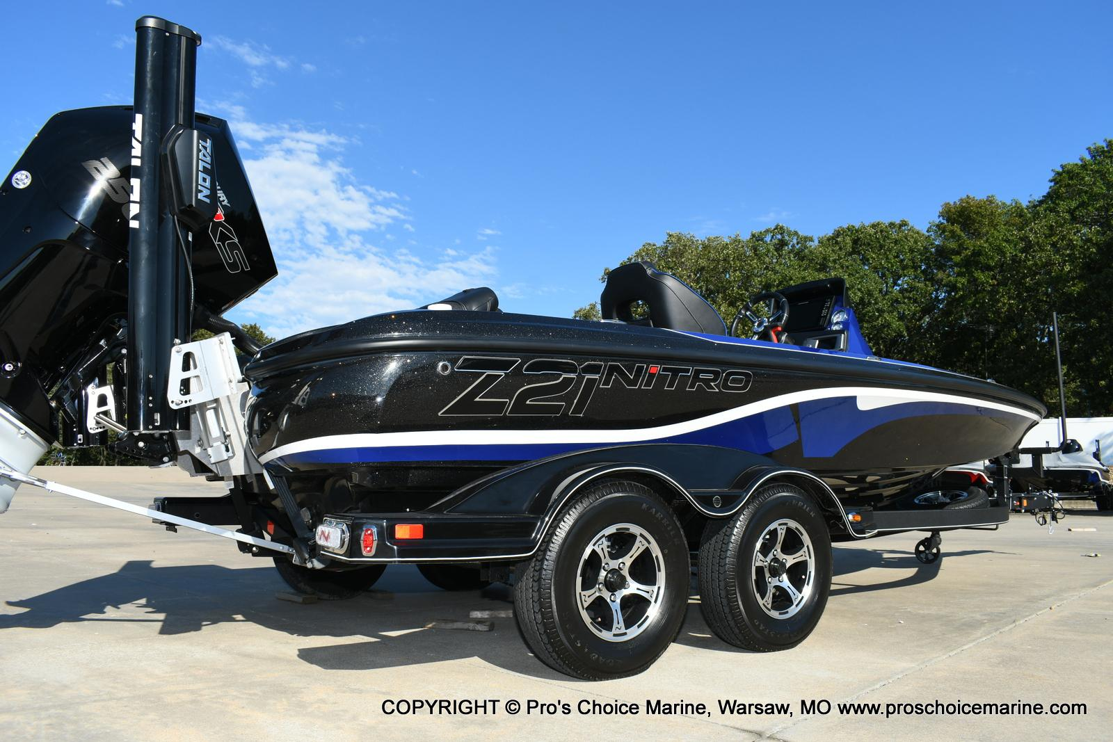 2020 Nitro boat for sale, model of the boat is Z21 Pro Package & Image # 12 of 50