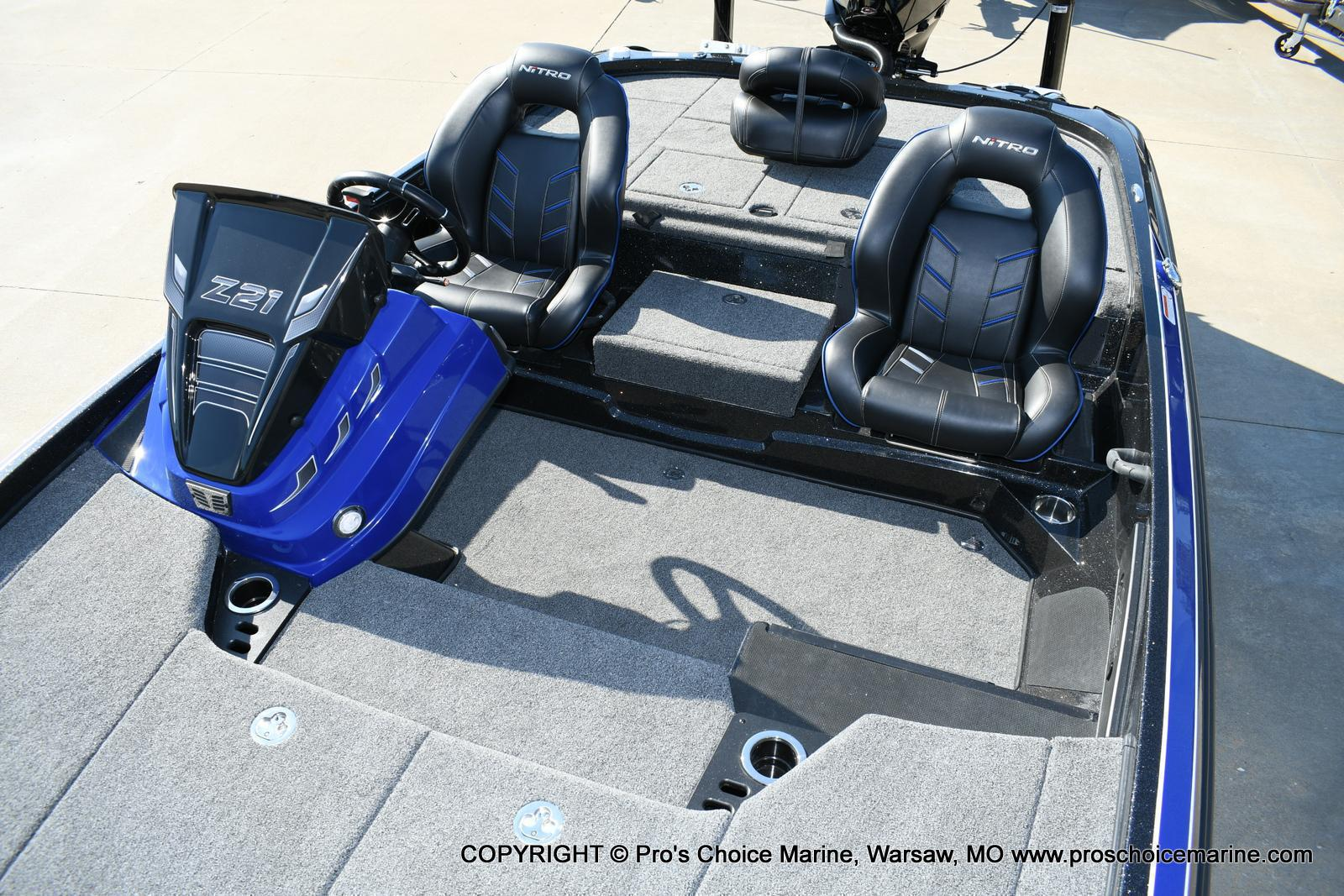2020 Nitro boat for sale, model of the boat is Z21 Pro Package & Image # 18 of 50