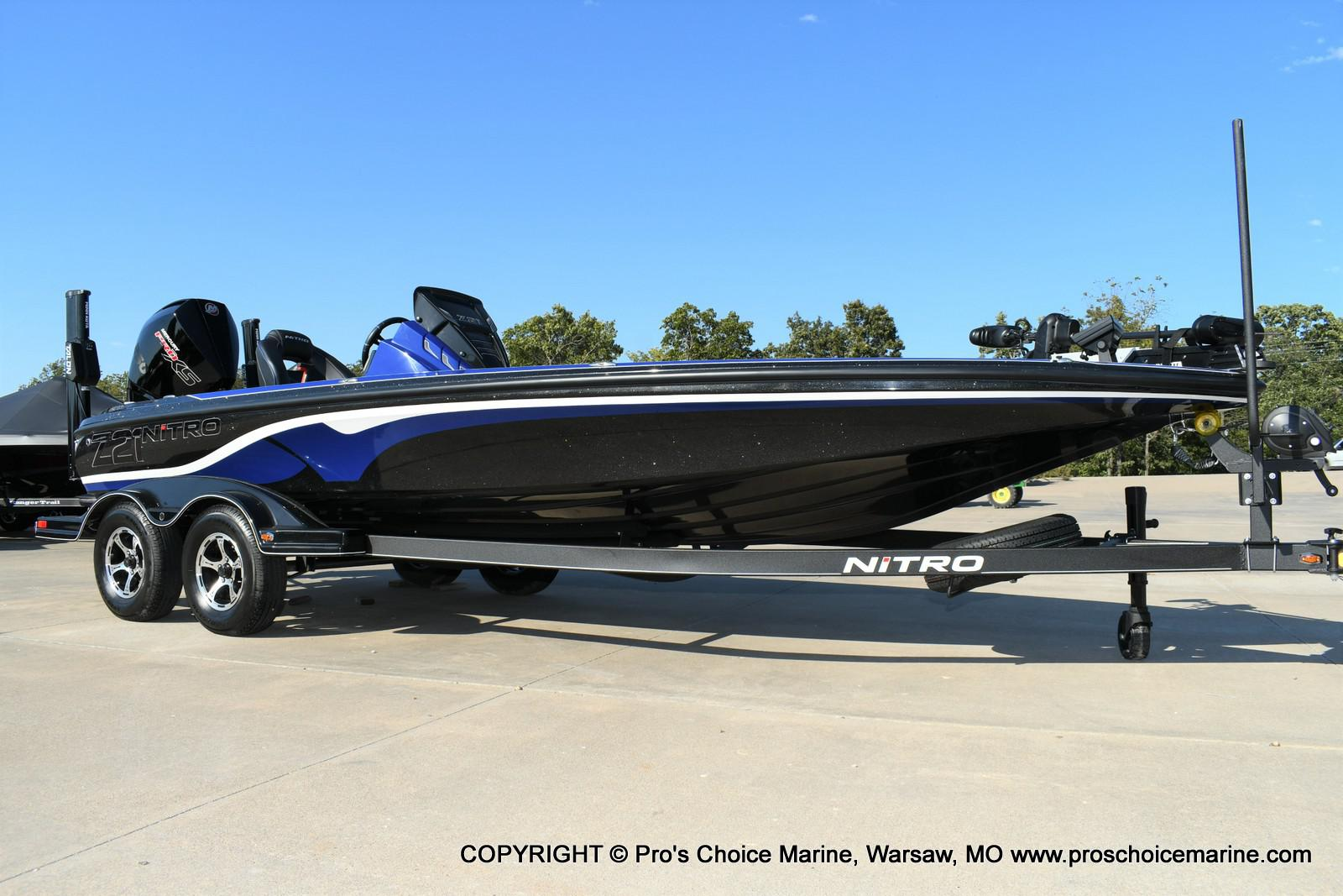 2020 Nitro boat for sale, model of the boat is Z21 Pro Package & Image # 21 of 50