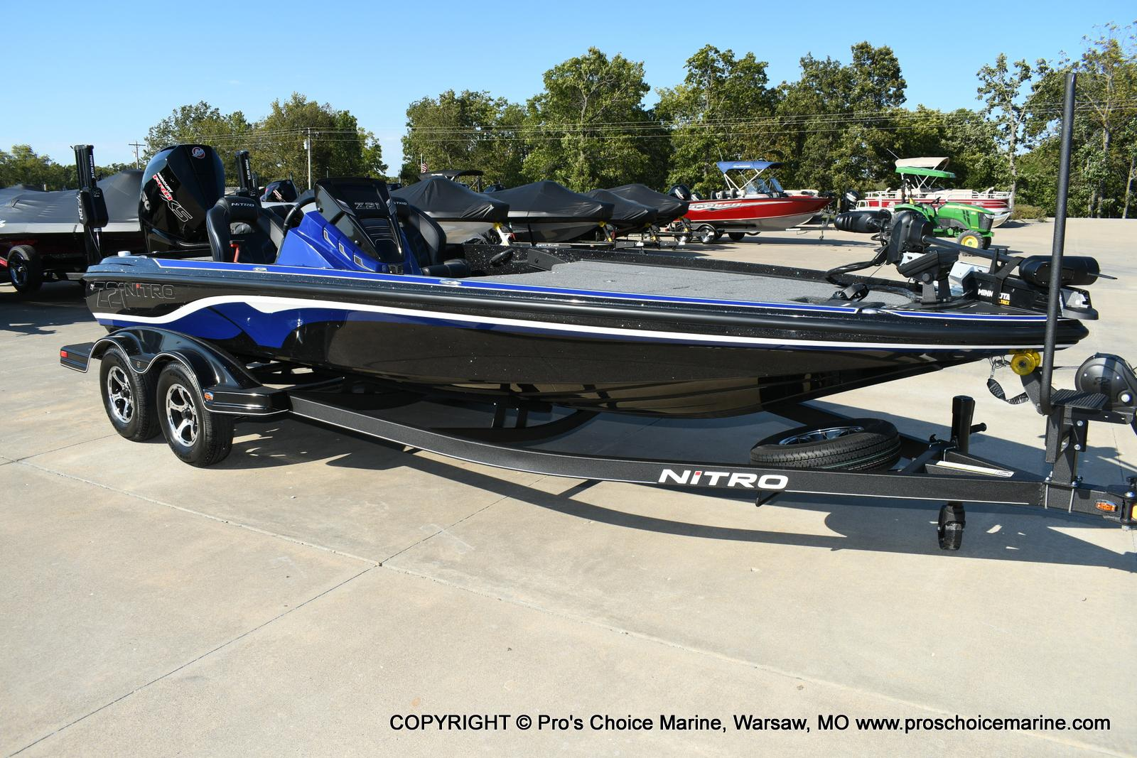 2020 Nitro boat for sale, model of the boat is Z21 Pro Package & Image # 22 of 50