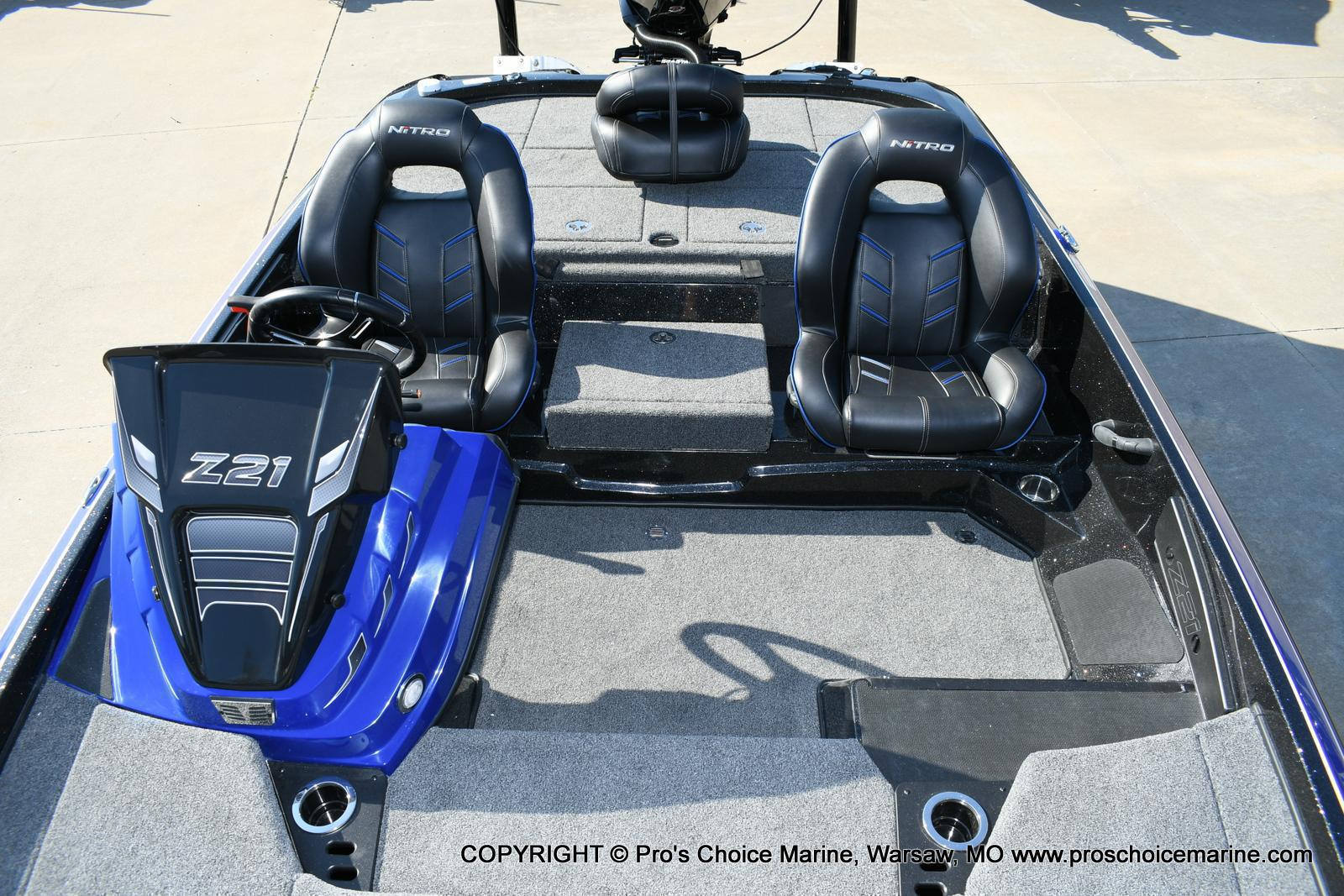 2020 Nitro boat for sale, model of the boat is Z21 Pro Package & Image # 28 of 50