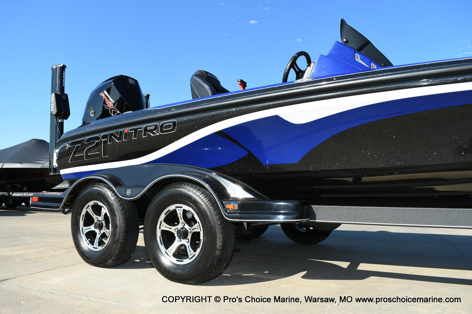 2020 Nitro boat for sale, model of the boat is Z21 Pro Package & Image # 35 of 50