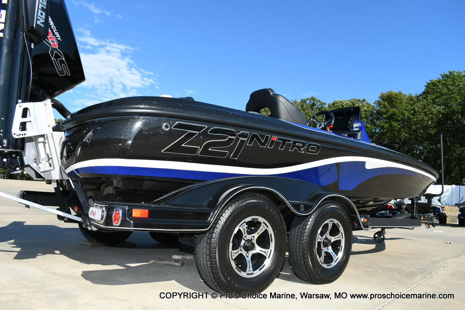 2020 Nitro boat for sale, model of the boat is Z21 Pro Package & Image # 36 of 50