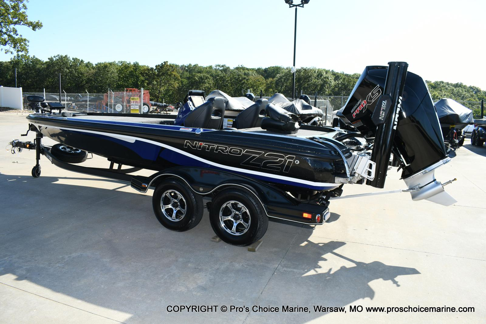 2020 Nitro boat for sale, model of the boat is Z21 Pro Package & Image # 37 of 50
