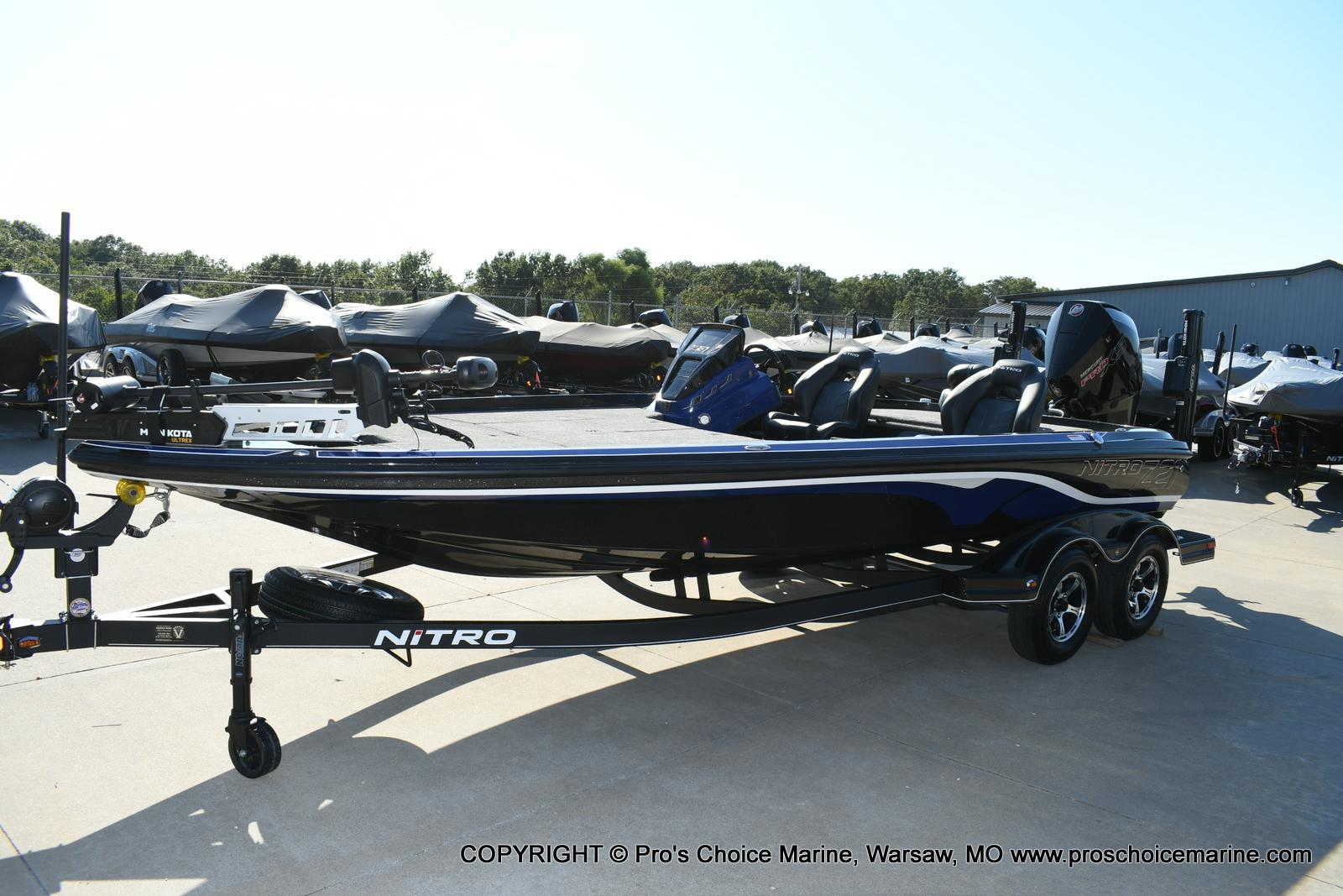 2020 Nitro boat for sale, model of the boat is Z21 Pro Package & Image # 38 of 50