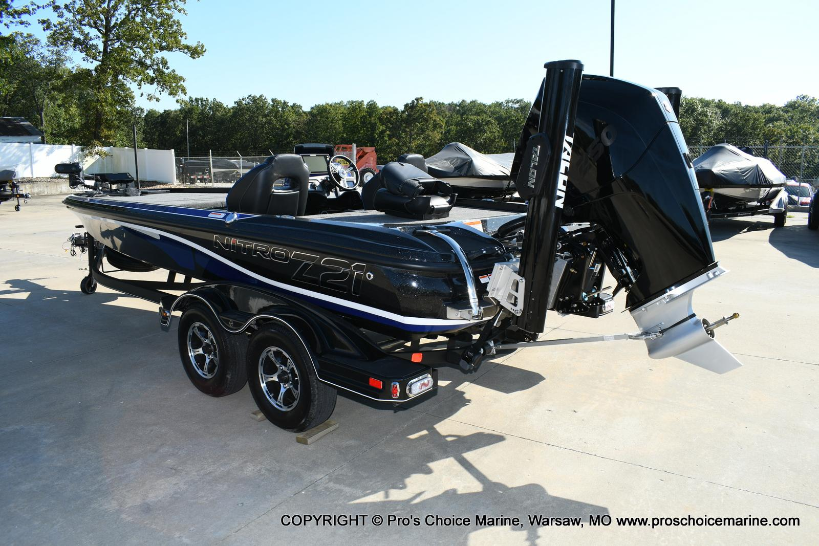 2020 Nitro boat for sale, model of the boat is Z21 Pro Package & Image # 4 of 50