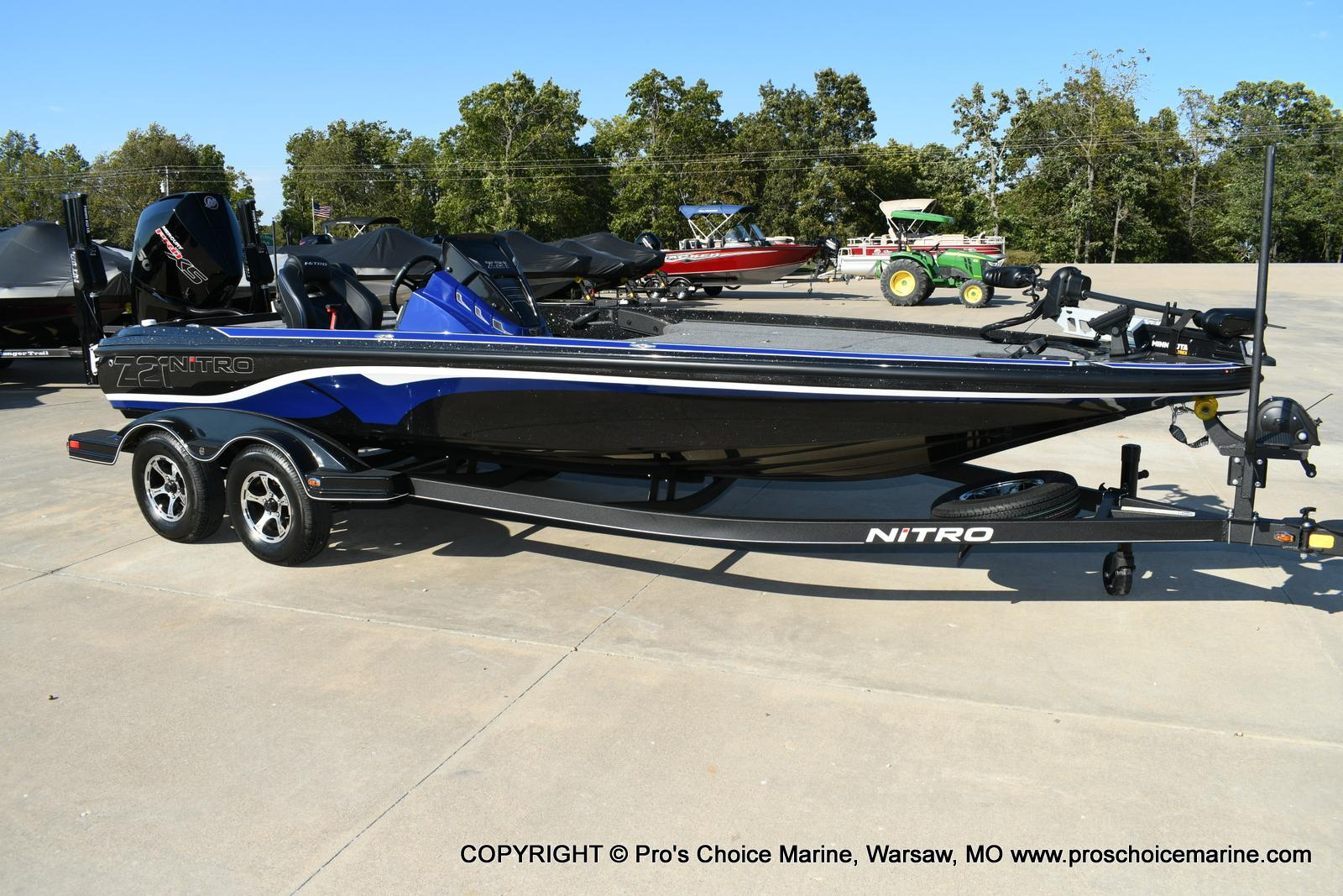 2020 Nitro boat for sale, model of the boat is Z21 Pro Package & Image # 50 of 50