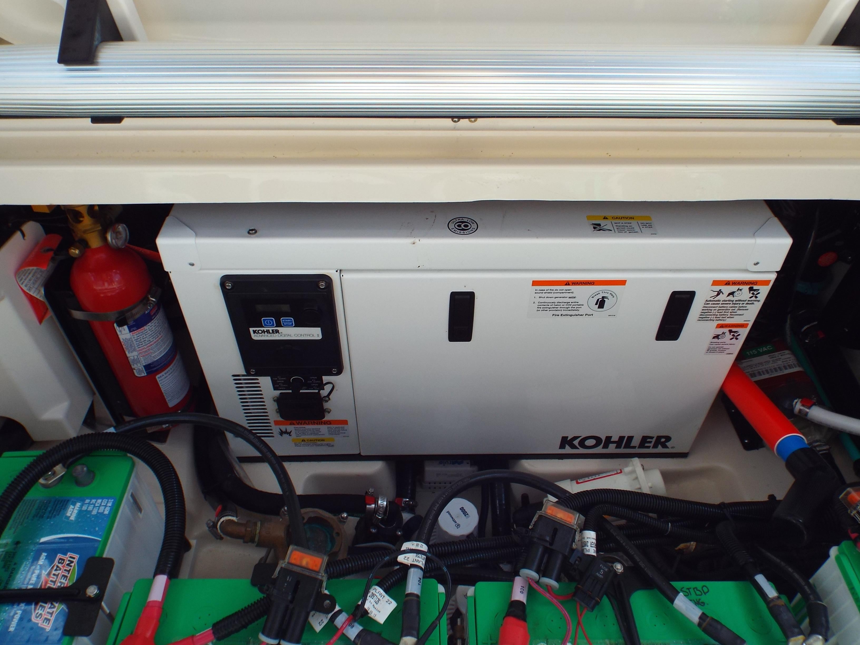 Generator with Sound Shield