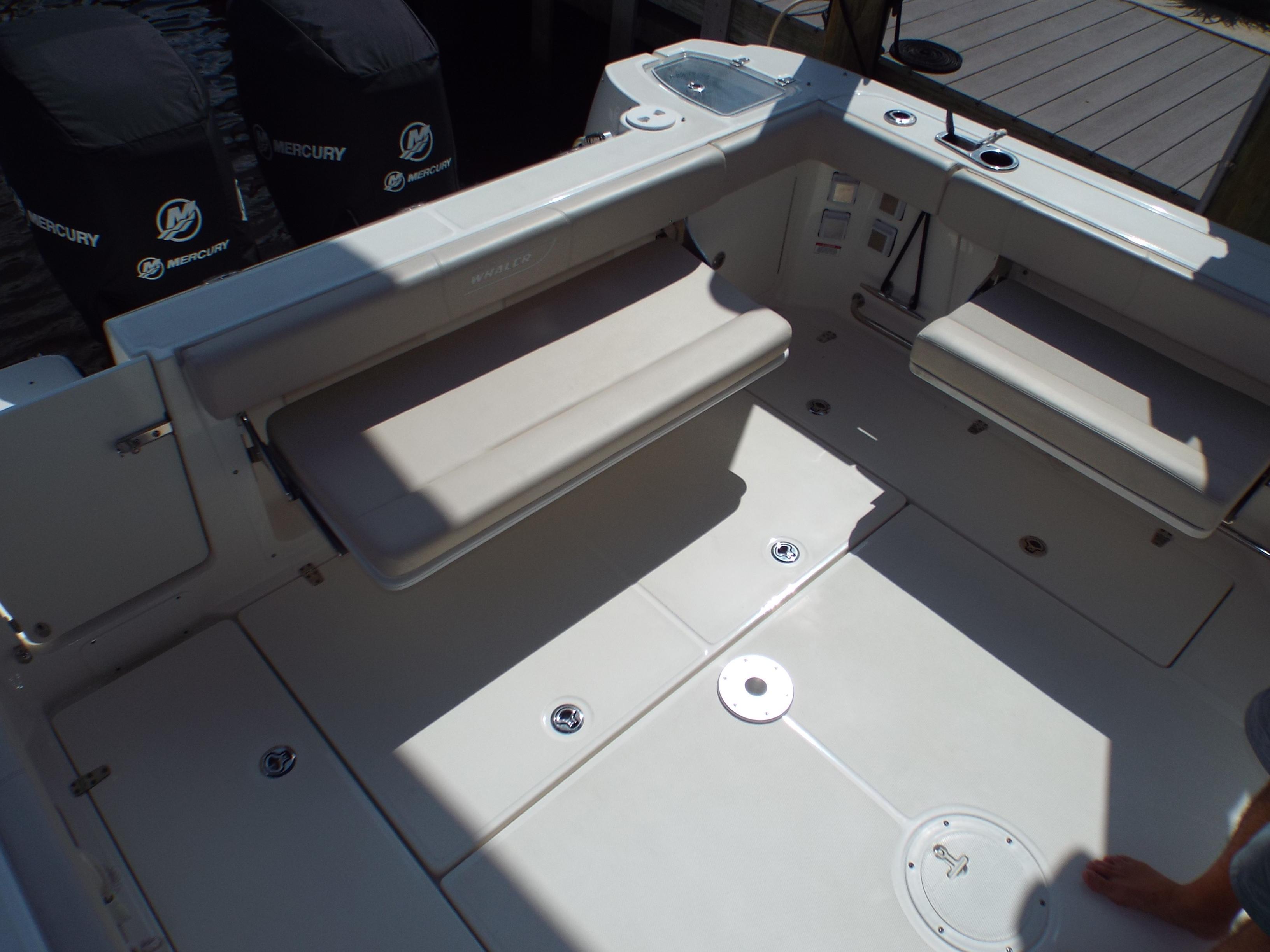 Cockpit's Folding Bench Seats