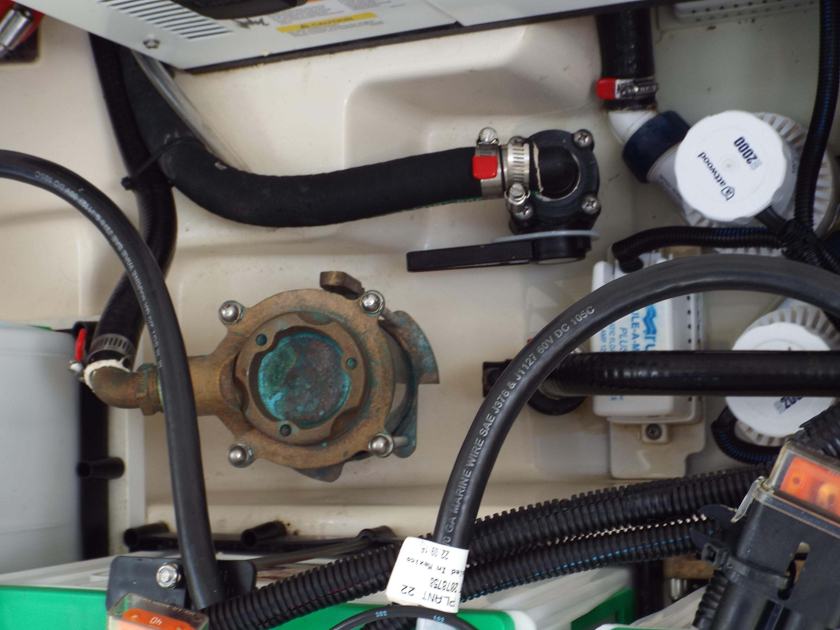 Generator Strainer/ Two 2000 GPM Bilge Pumps
