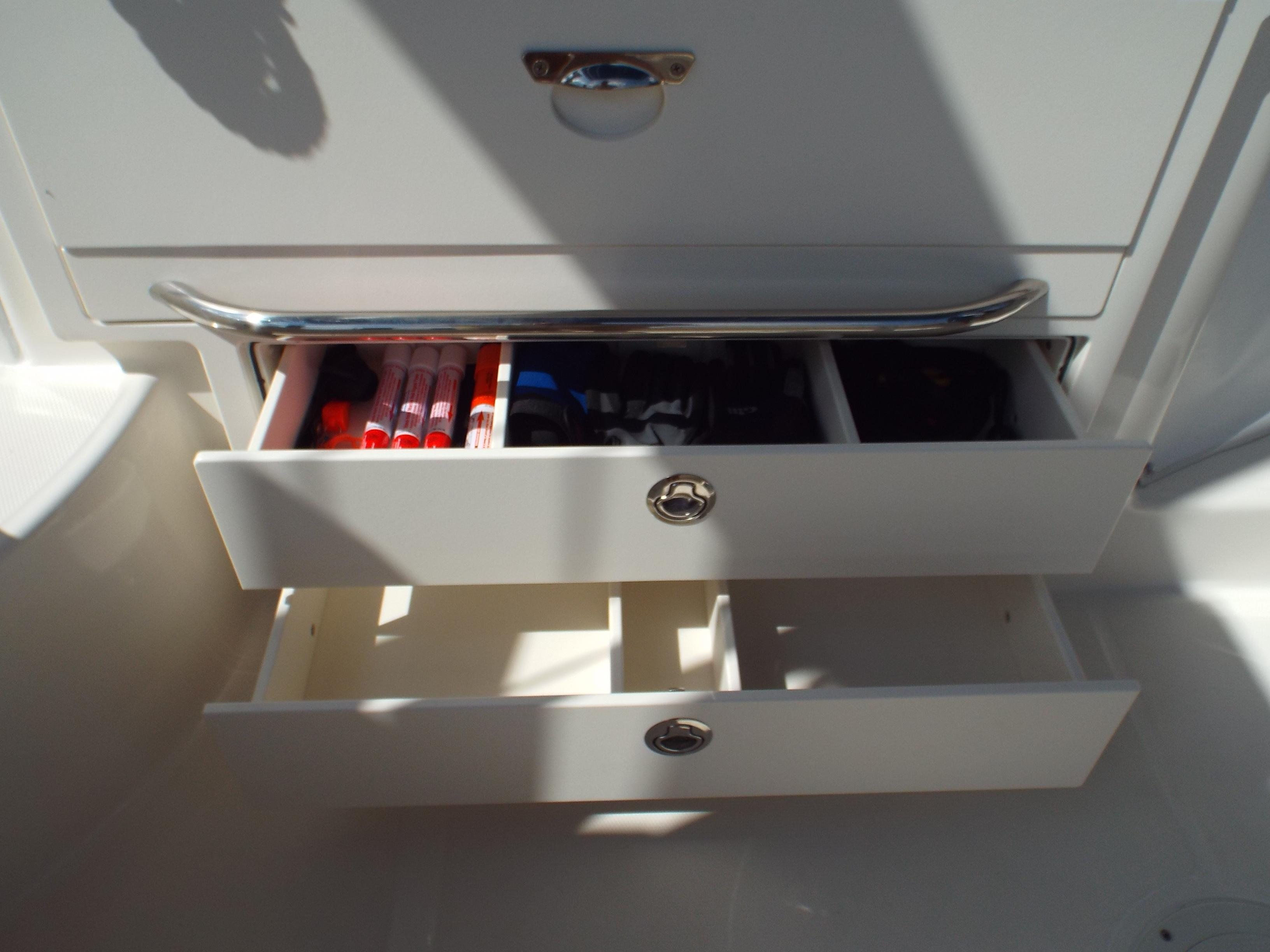 Cockpit Tackle Drawers