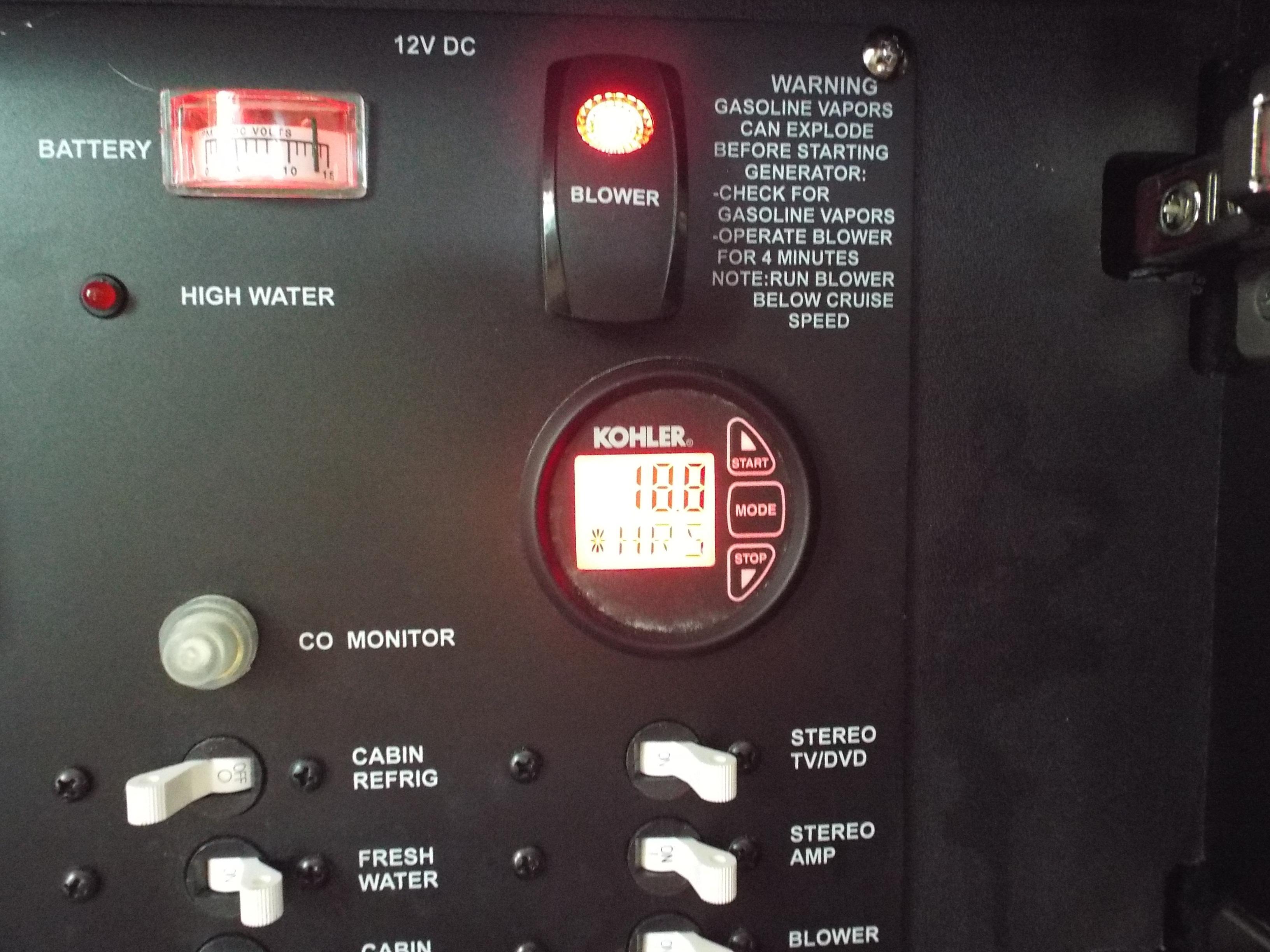 18 Hours on Generator