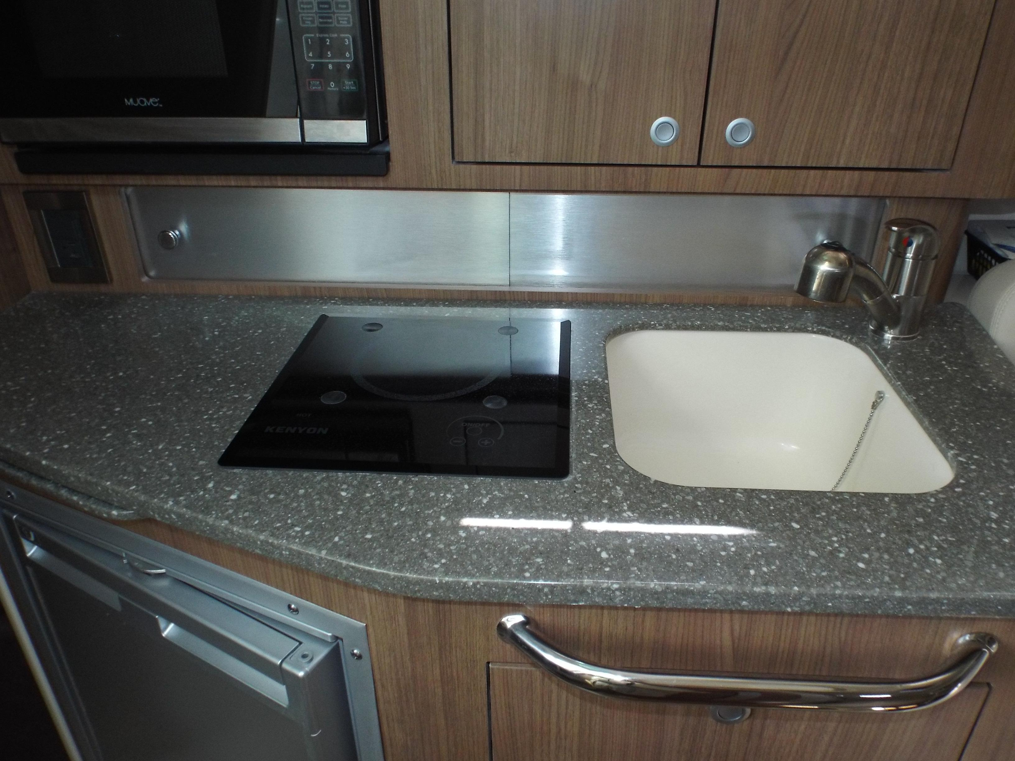 Galley Counter Top/ Sink/ Single Burner Stove Top
