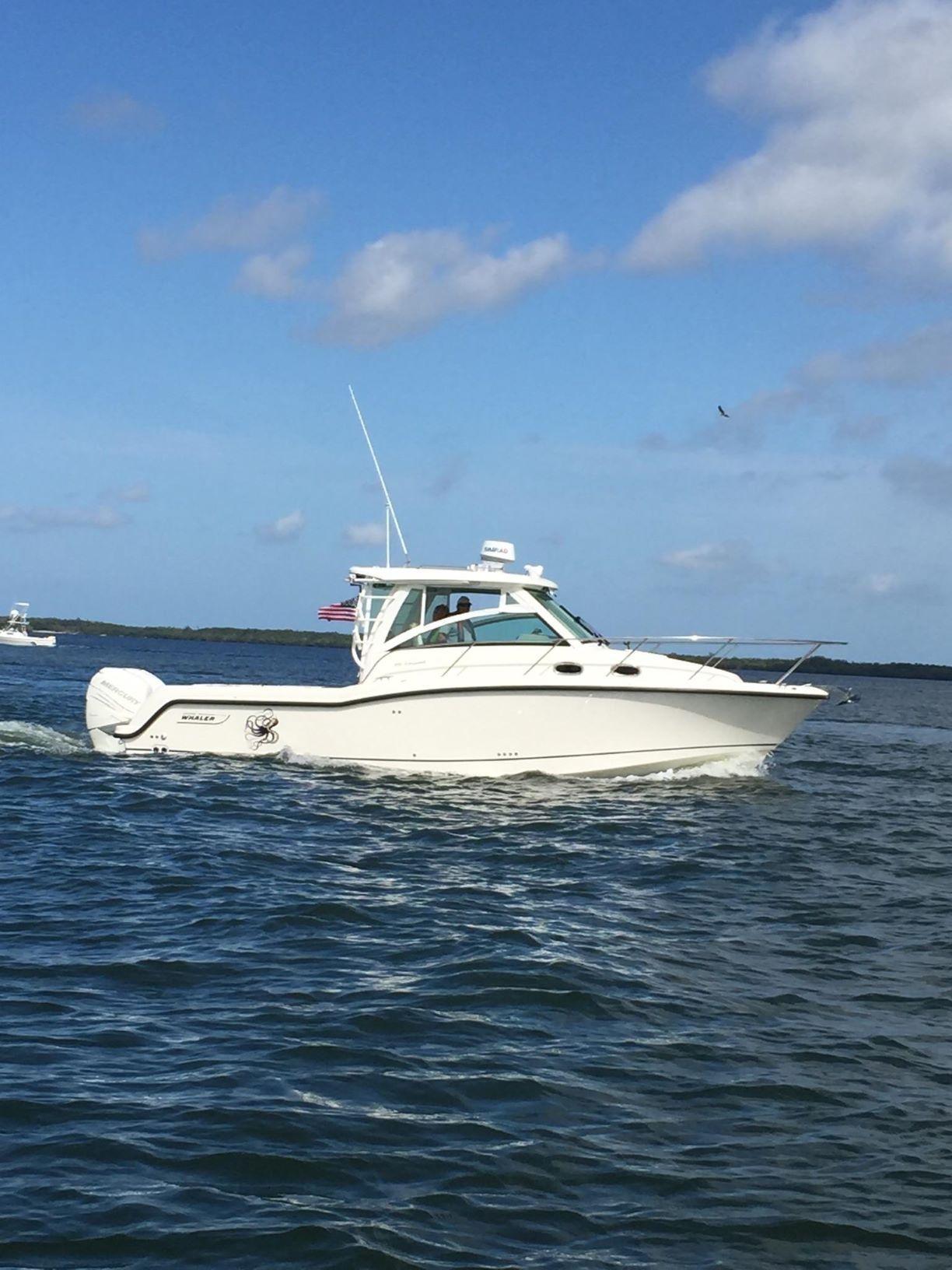 31 Boston Whaler 2017 Cape Coral | Denison Yacht Sales