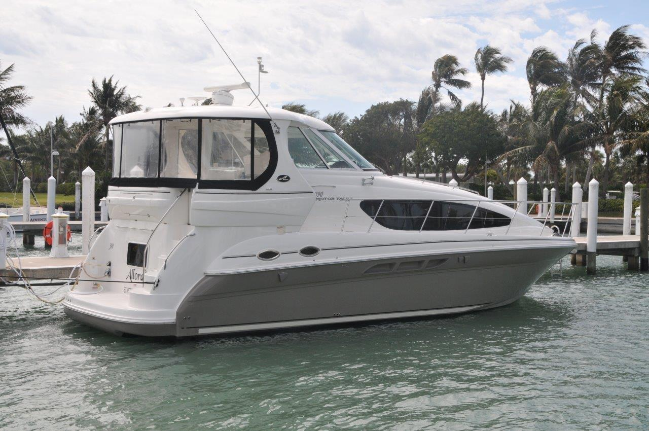 Used 2005 Sea Ray 390 Motor Yacht For Sale In St