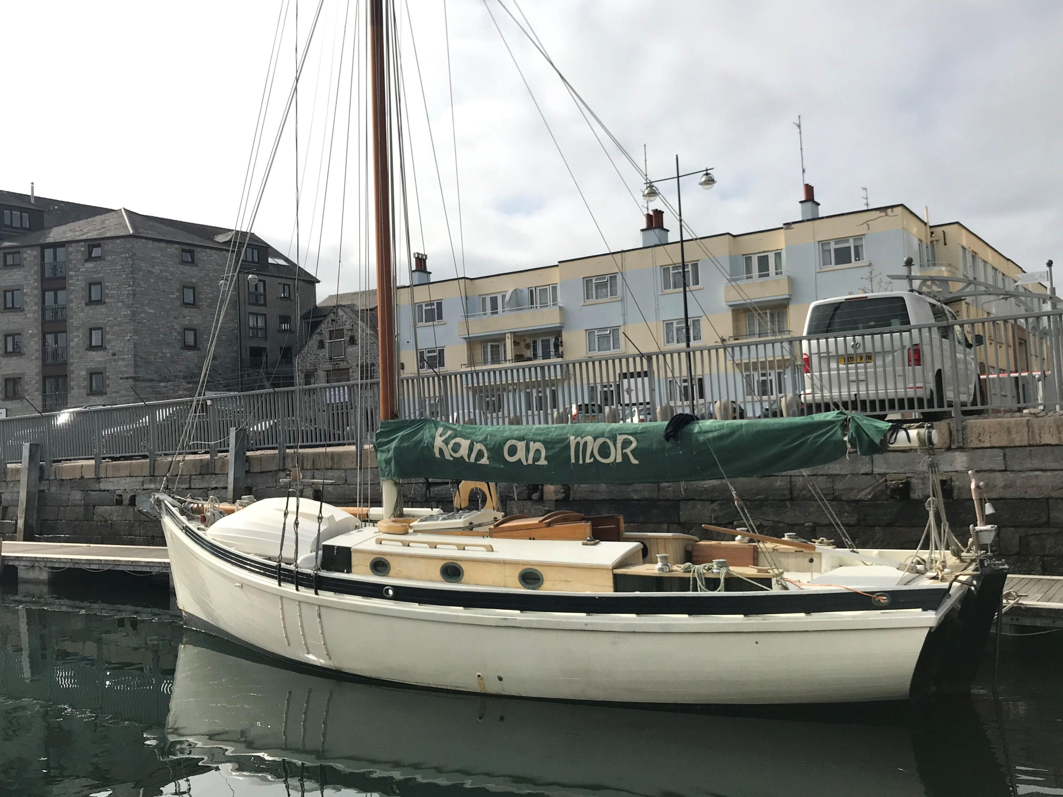 Classic Falmouth Work Boat