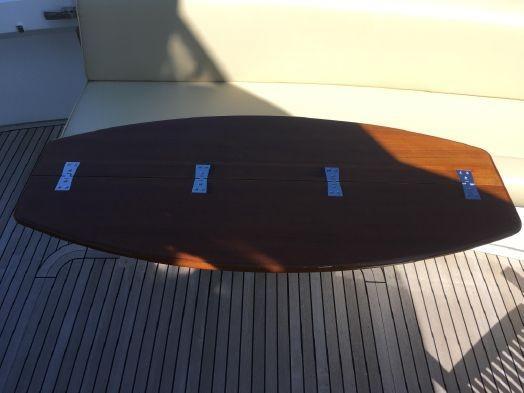 55 ft Grand Banks 55 Eastbay FB Cockpit Table