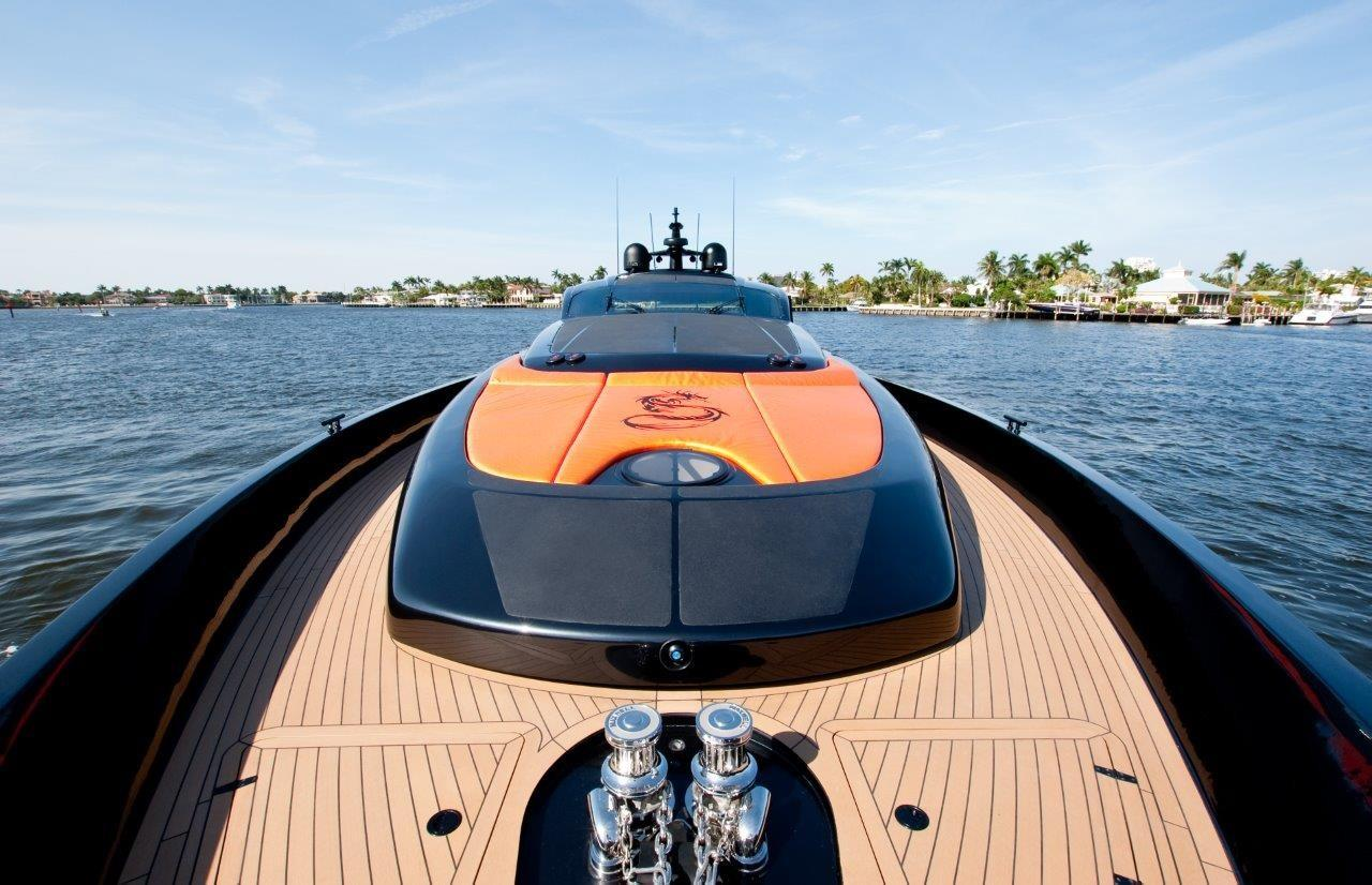 2002 Pershing 88 - Looking Aft