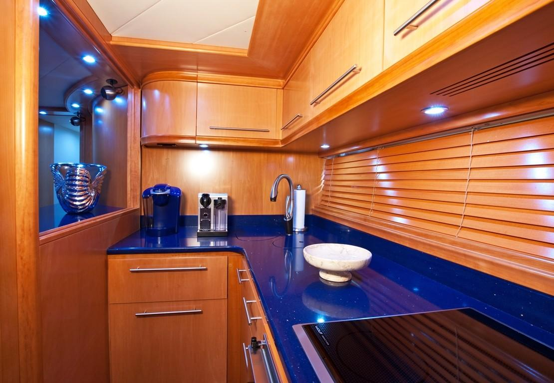 2002 Pershing 88 - Galley