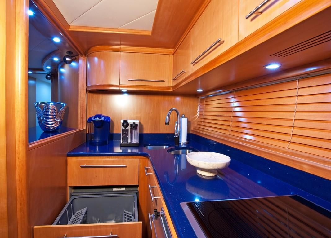 2002 Pershing 88 - Galley Dishwasher
