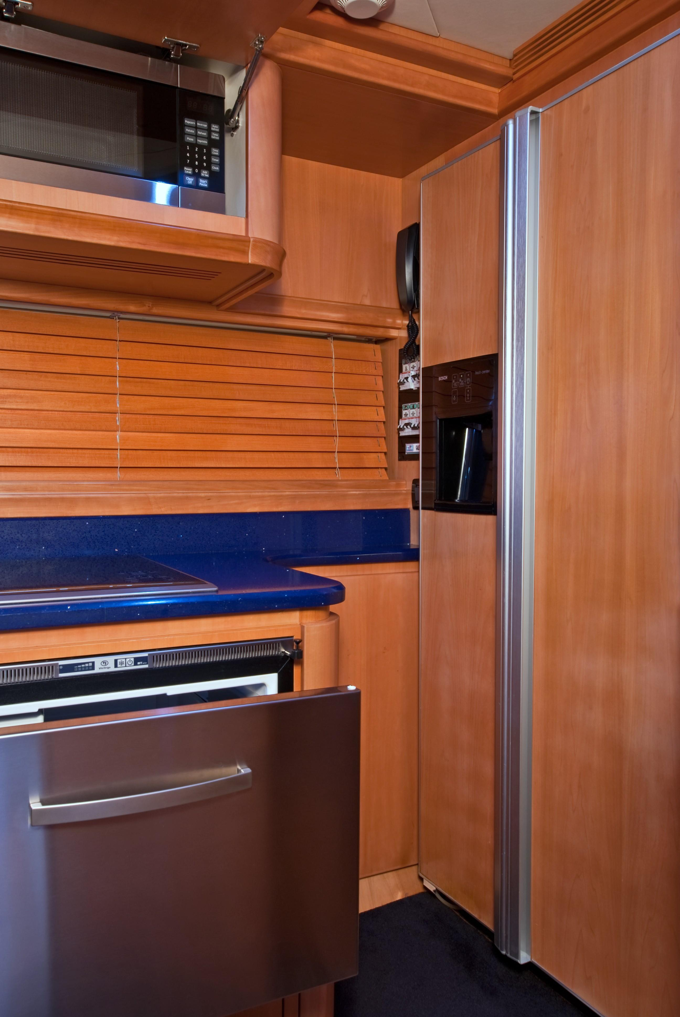 2002 Pershing 88 - Galley Frig and Micro