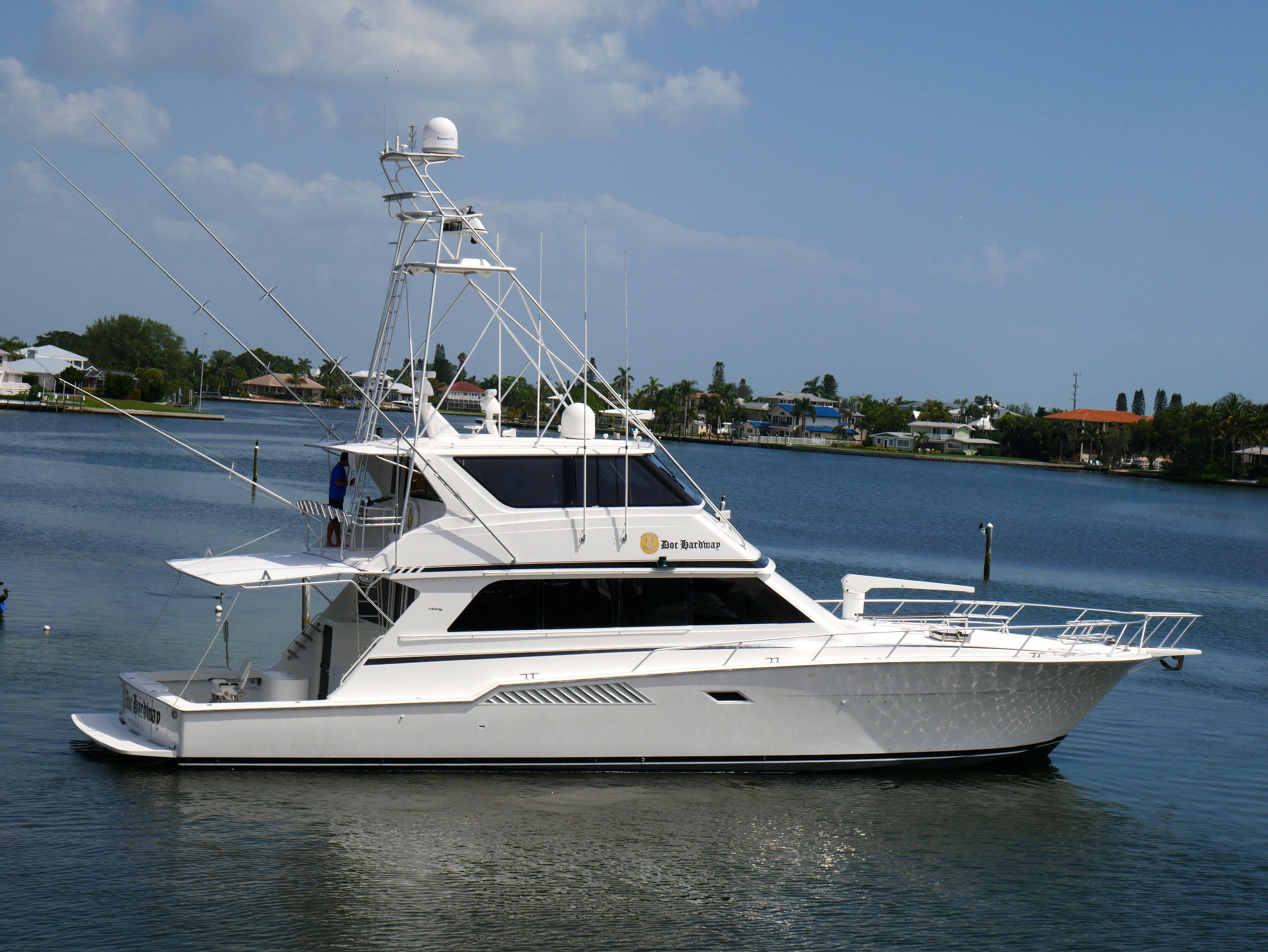 72 viking 1997 doc hardway for sale in anna maria florida for 72 hatteras motor yacht for sale
