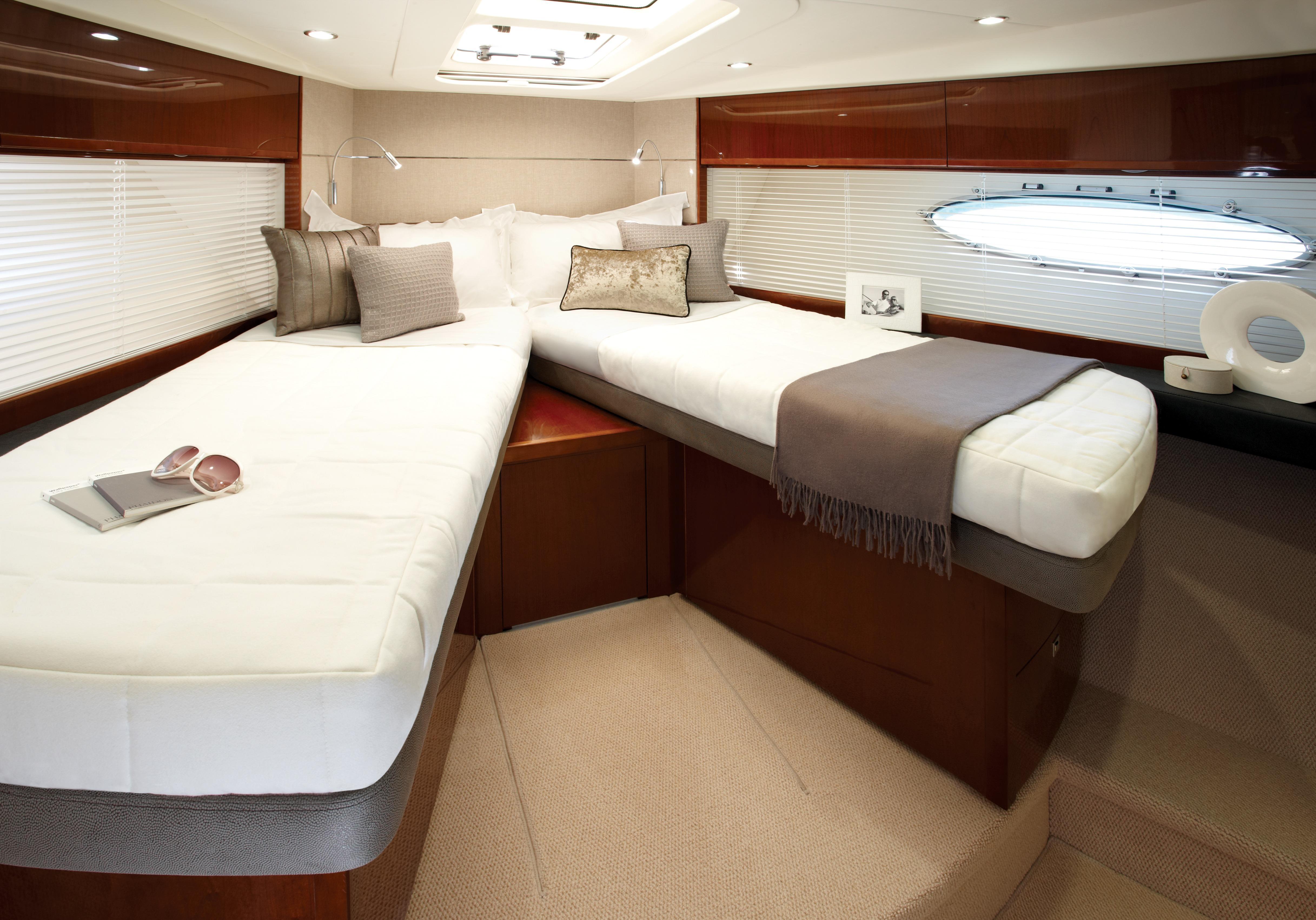 Manufacturer Provided Image: Princess V52 Forward Double Cabin