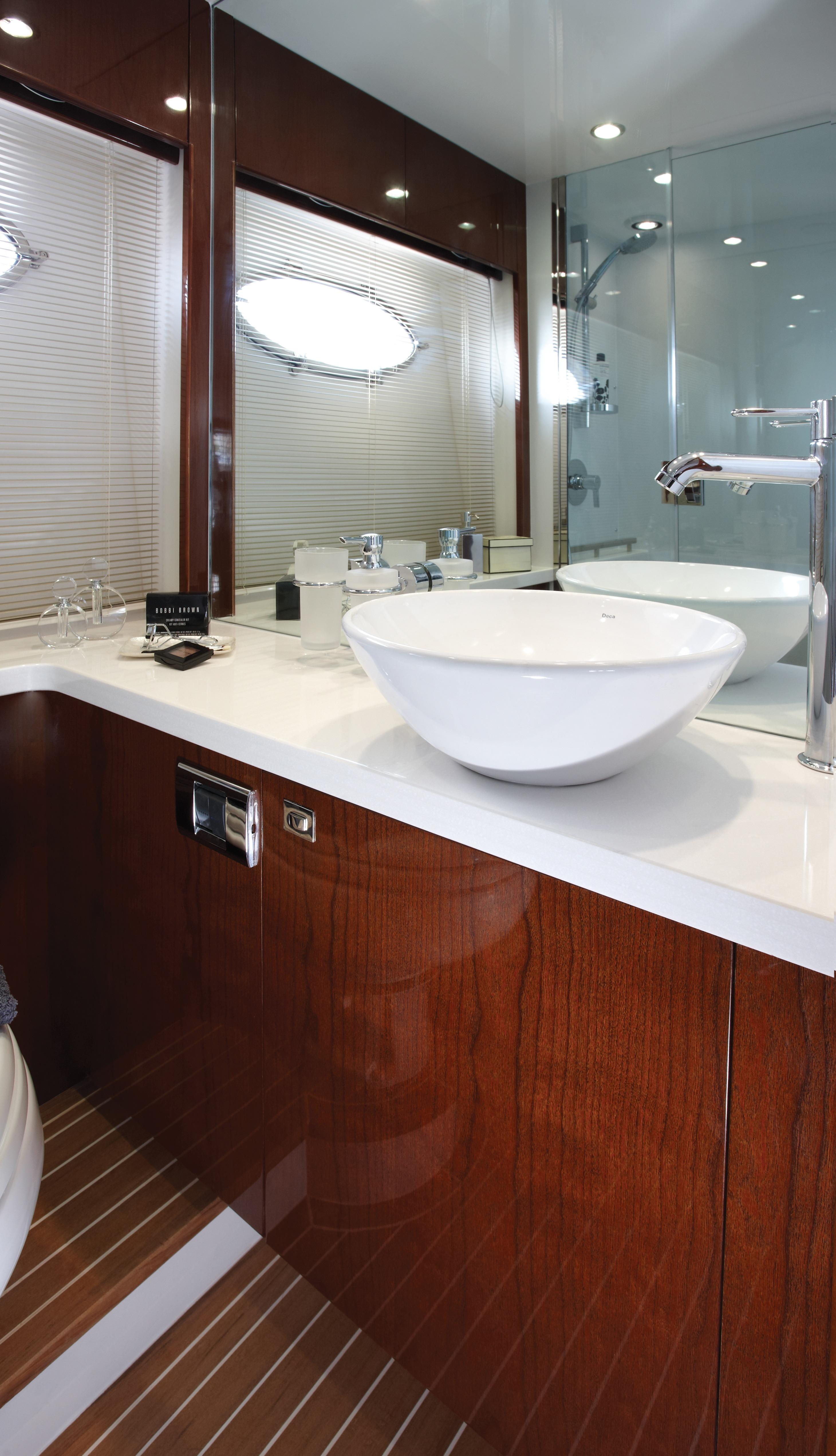 Manufacturer Provided Image: Princess V52 Master Bathroom